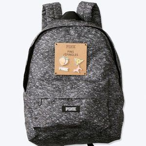 PINK MINI BACKPACK WITH PINS